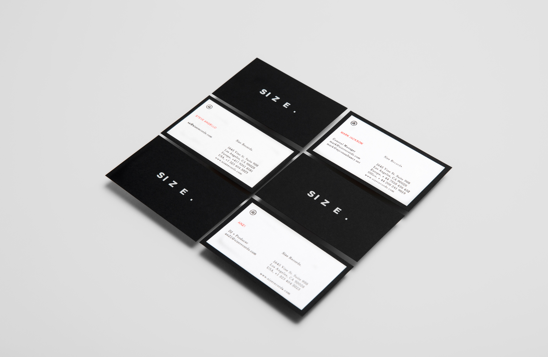 Branding journal size records reheart Choice Image