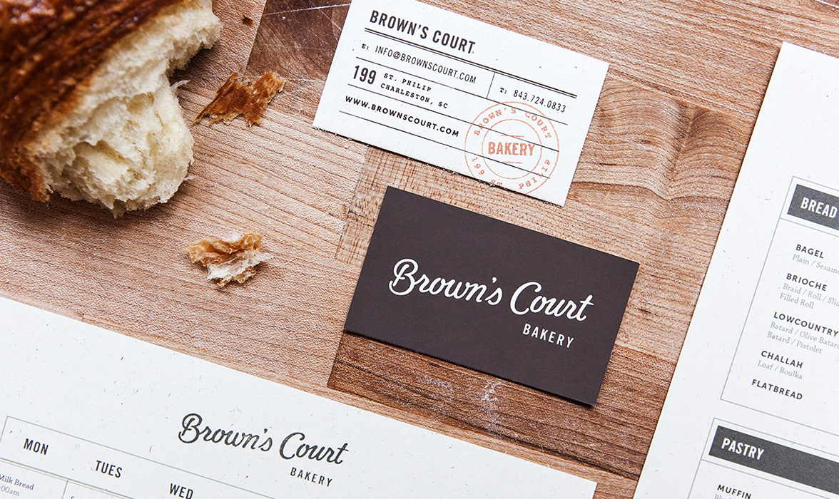 Branding Journal | Brown\'s Court Bakery