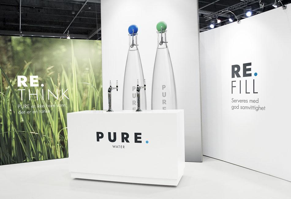 branding journal pure water company