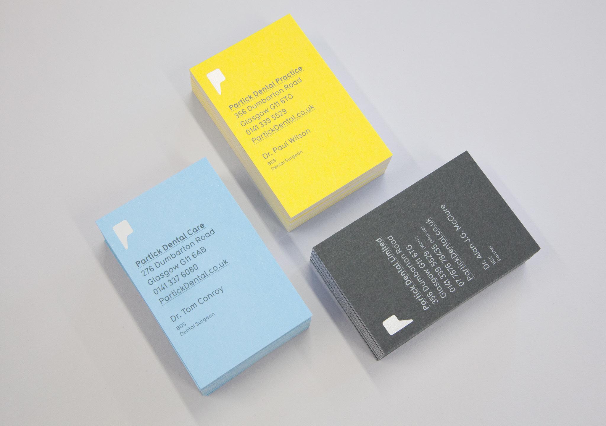 Branding Journal   Partick Dental