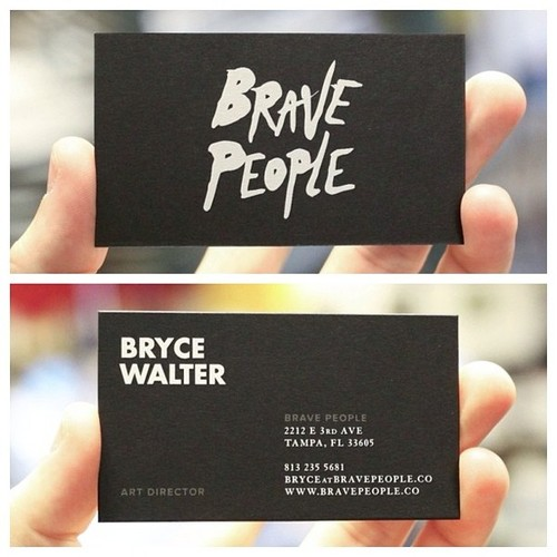 Branding journal 11 business card designs with big typography 11 business card designs with big typography colourmoves