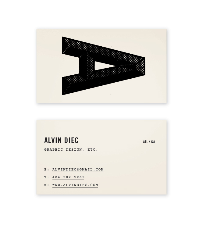 Branding journal 11 business card designs with big typography today we present you our top 11 business card designs with big typography colourmoves Image collections